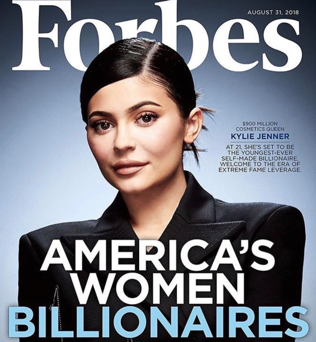 A Word About Kylie Jenner, Forbes & Internet Hate