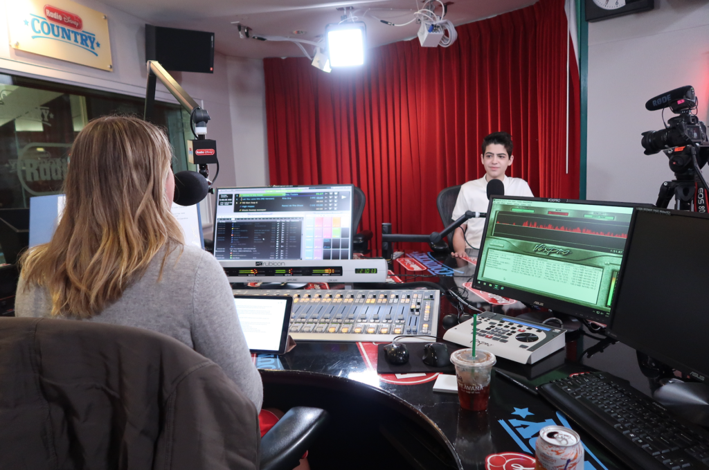 Radio Disney show with Joshua Rush