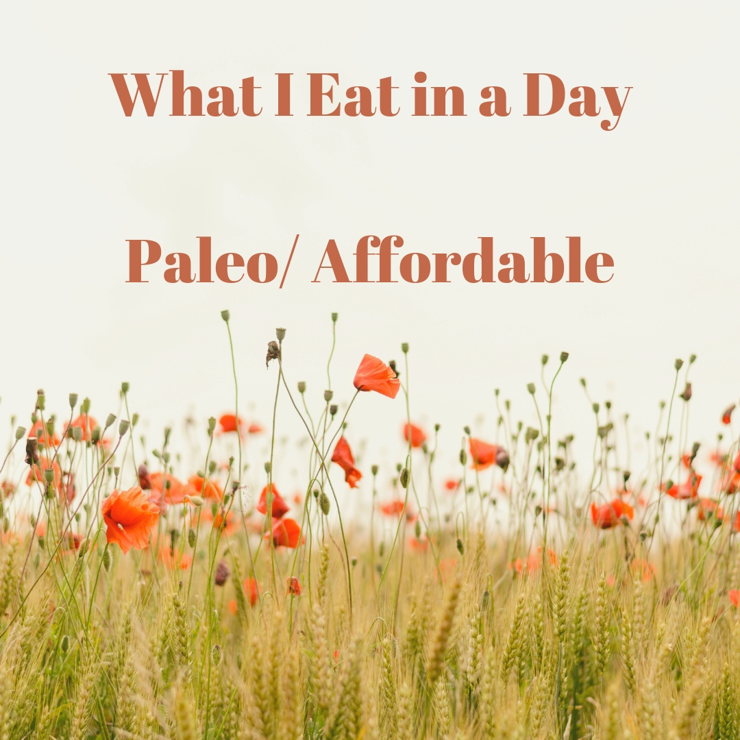 What I Eat in a Day/ What Paleo Is