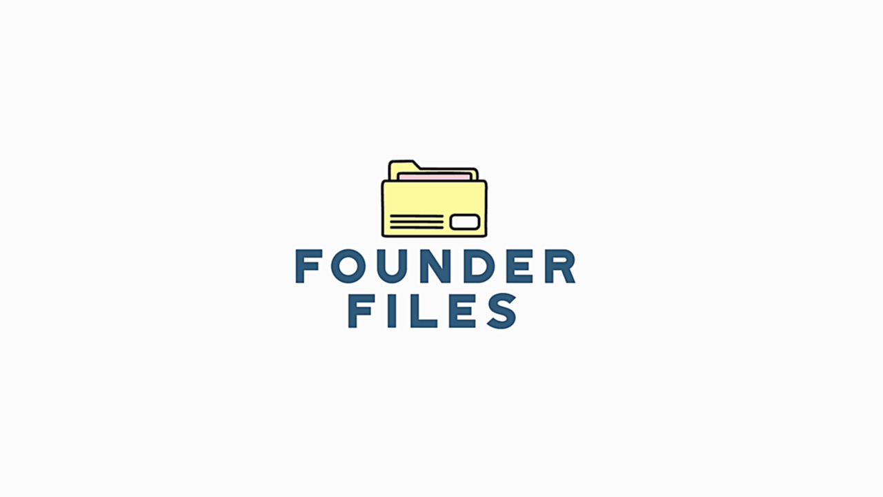 Coming Up on Founder Files, My New Show