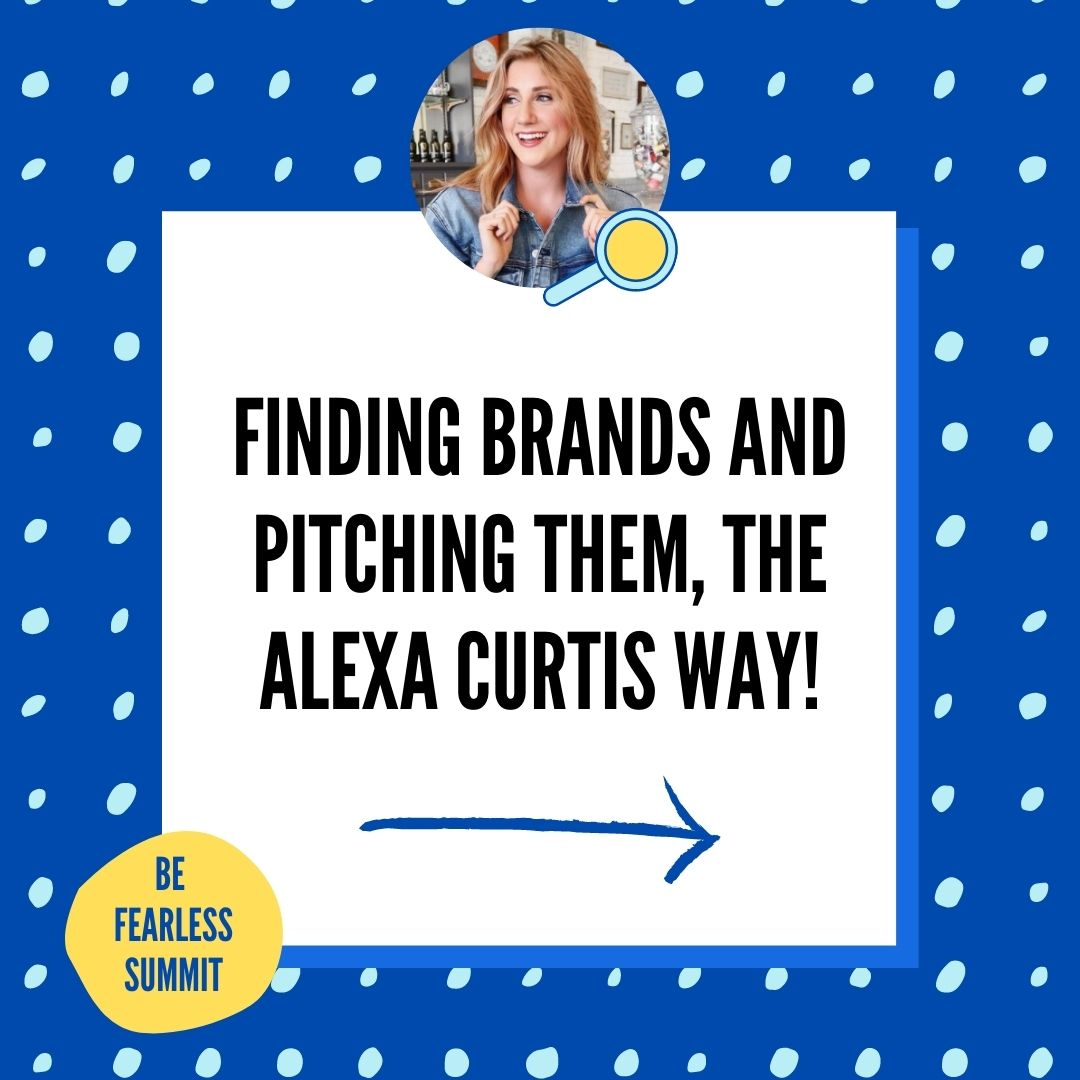 The Alexa Curtis Way To Pitch
