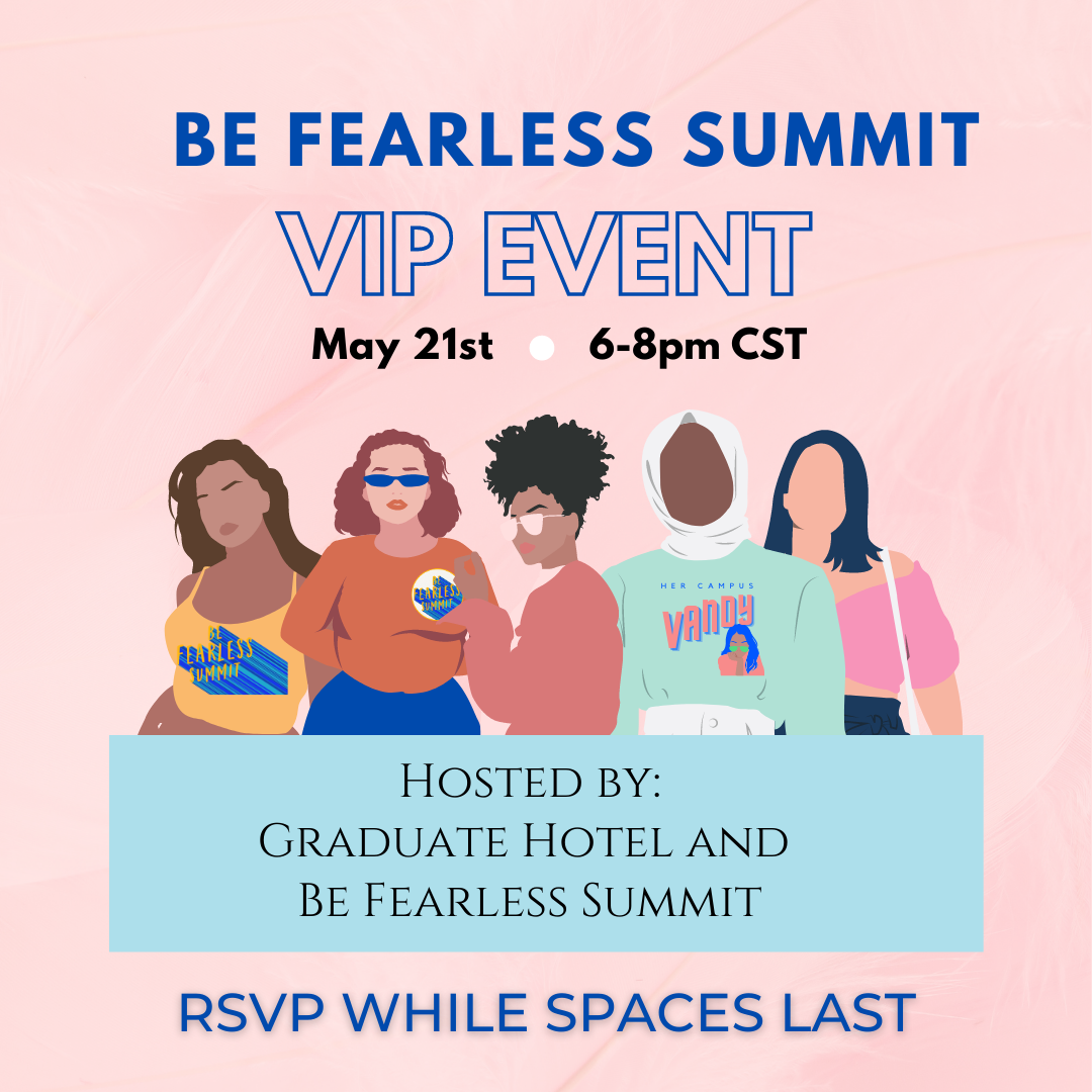 The VIP Be Fearless Summit Party!