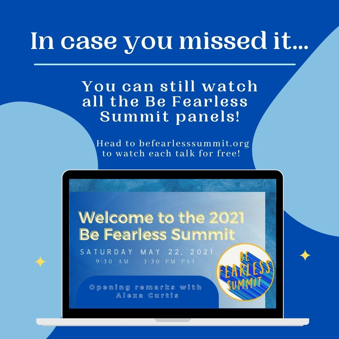 WATCH THE TALKS FOR FREE!