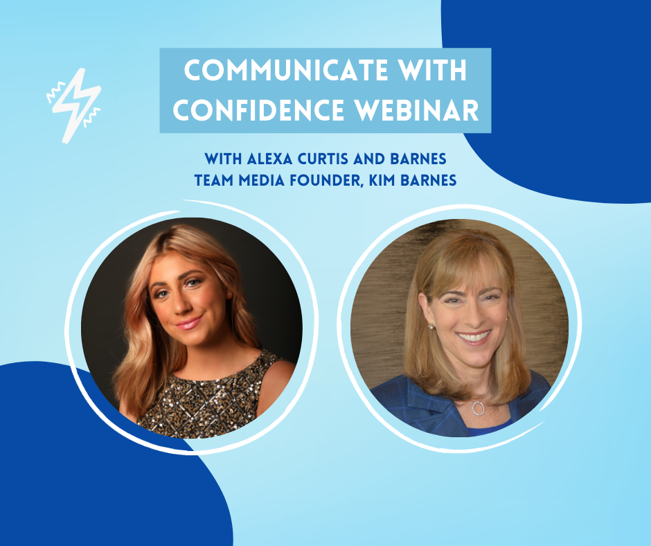 Communicate with Confidence Webinar